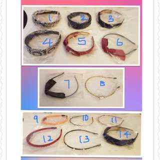 Hair bands for girls and ladies