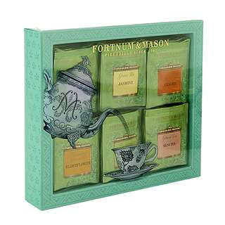 Fortnum & Mason Green Tea Bag Selection Gift Box 英國綠茶禮盒