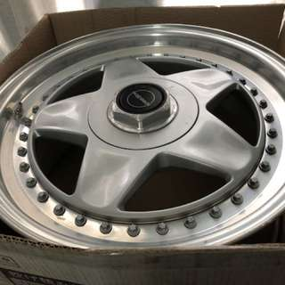 17inch Original Speedline Mistral 3 piece Alloy Wheel