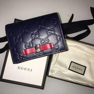Gucci 全新新款短銀包