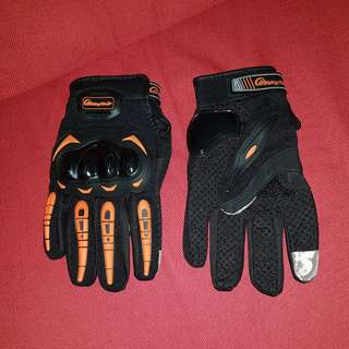 driving gloves with full hand protection