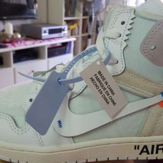 Off-white x Jordan 1 Retro High White for SALE!!!