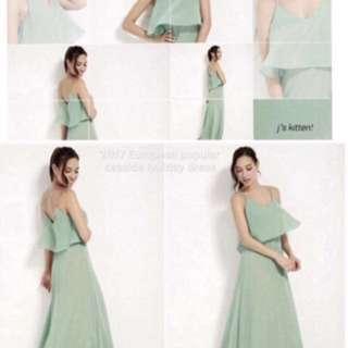 Maci Chiffon Dress