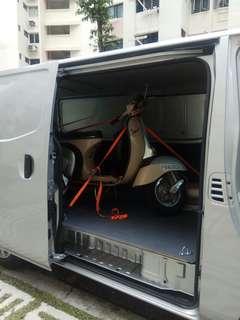 Towing / on-site bike service / mobile mechanic / vespa