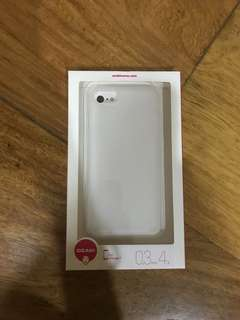 O!coat 0.3 Jelly Ultra Slim & Lightweight Case for iPhone 7 (Clear)