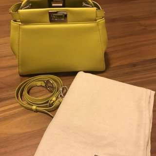 Fendi handbag 95% new