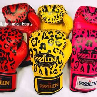 Wolon Leopard Boxing Gloves