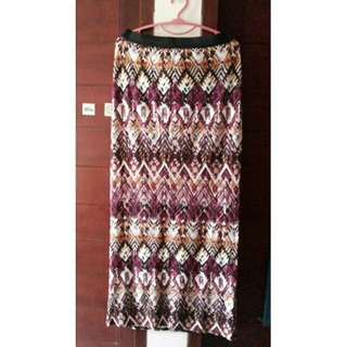 Newlook Batik skirt