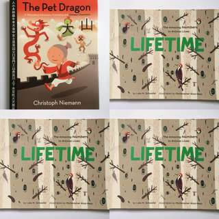 Bundling Pet Dragon dan Lifetime Buku Impor Anak