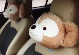 Disney Duffy Shelliemay 汽車頸枕 枕頭 (一套或單買)