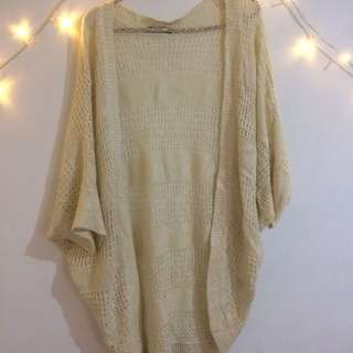 White Outter Knitted