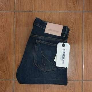 Wts celana Sixteen denim scale - dipptight new muraaaah