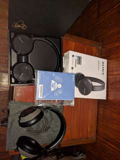 Sony MDR-ZX220BT and House of Marley LIBERATE XLBT