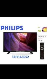 32 inch Philips LED TV (Free 1 year warranty)