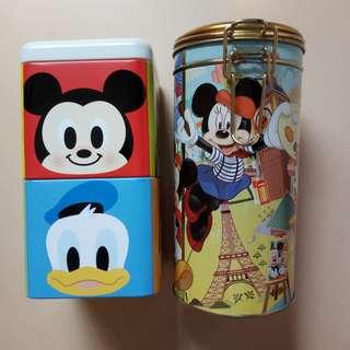 Disney metal boxes