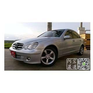 2006 M-Benz W203 C200K 1.8 底盤扎實 車況綿密 .3500帶回家 心動專線:0925001842