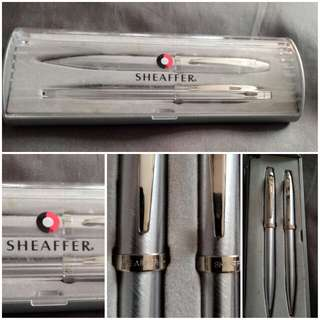 SHEAFFER Ballpoint Pens & Pencil With Box