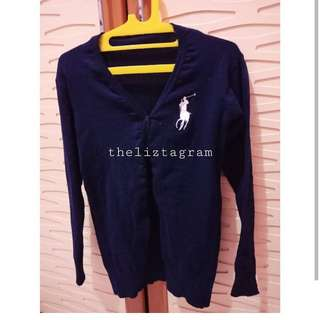 Cardigan Rajut Polo