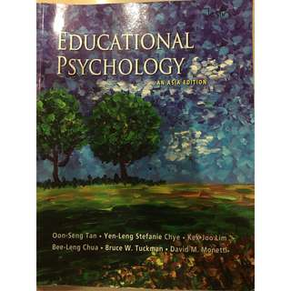 [GOOD AS NEW] NIE Educational Psychology Textbook (Ed Psych)