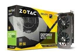 Zotac 1060 3GB Amp edition