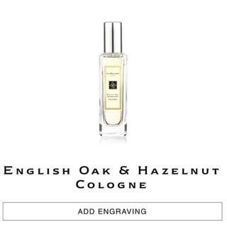 NEW! Jo Malone Cologne (30ml) - English Oak & Hazelnut