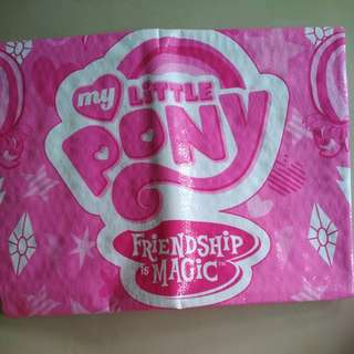 [WTS] Brand New Lovely Pink My Little Pony Beach/Picnic Mat. Sz L46 x W35 Inch.  Esp Suitable For My Little Pony Collectors.In Orig Packaging. See All Pics N Matching Pink Beach/Travel Bag (Selling Separately) .