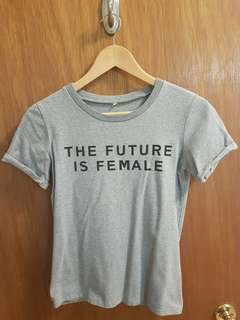 """The Future Is Female"" t-shirt"
