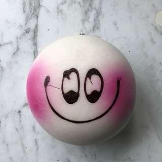 Jumbo blush bun squishy