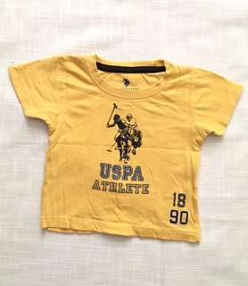 Charity Sale! Authentic U.S. Polo Assn. Size 18 Months Boys T-shirt
