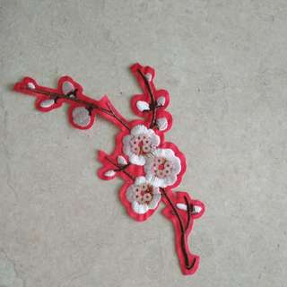 Iron on patch - Flower #6