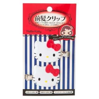 [PO] Sanrio Hello Kitty Bangs Clip 2pc Set