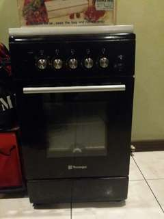 Technogas Gas Range 50x55cm and Oven TFG5540AB