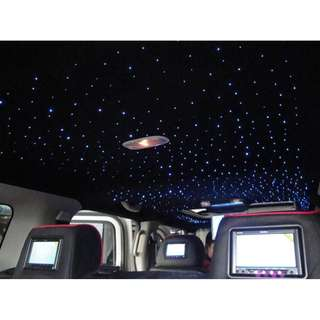 CAR CEILING LIGHTS - FIBER OPTIC ROOF