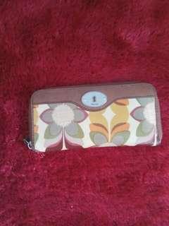 Fossil keyper wallet