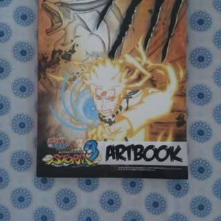 NARUTO Ultimate Ninja Storm 3 Artbook