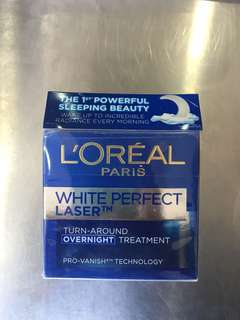 Loreal white perfect turnaround overnight