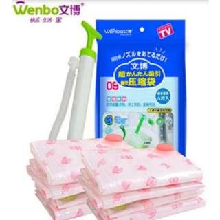 Plastic vacum untuk packing pakaian/ Vacum plastic - HPR089