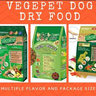 Vegepet functional vegetarian dog food Vegepet Dry Dog Food vagan dog food