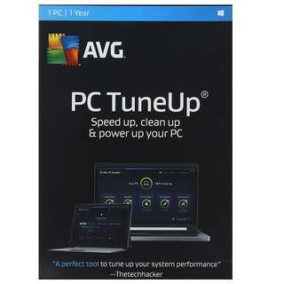 AVG TuneUp 2018 for 1-year