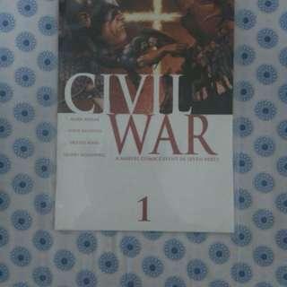 Marvel Civil War Volume 1