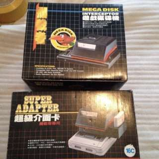 SFC - Super Adapter & Mega Disk