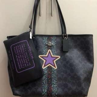 Authentic Coach Reversible Tote Bag