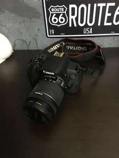 Canon EOS 700D (With bag, Sd Card, Lens Glass protector)