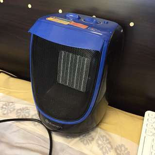 ZIELEN Mini Ceramic Fan Heater 防水陶瓷暖風機