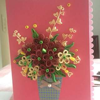 Quilling Cards for any occasion