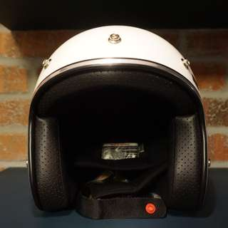 BOULTER OPEN FACE CAFE RACER HELMET
