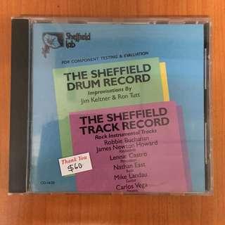The Sheffield Drum Record USA Sheffield Lab CD