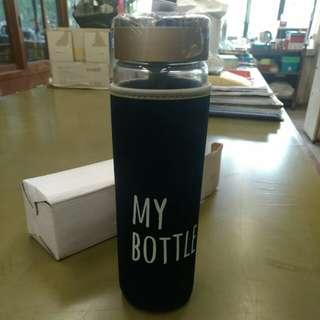 玻璃水樽 (連保溫/冷套)