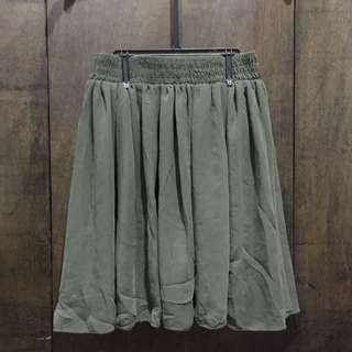 American Apparel Chiffon Skirt