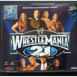 WrestleManina 21 VCD 4 disc